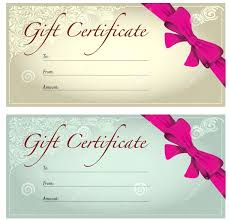 printable christmas gift vouchers template gift voucher template for word certificate templates