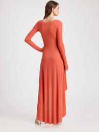 bcbgmaxazria aurela dress in pink lyst