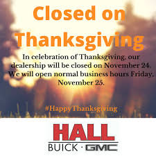 happy thanksgiving hours
