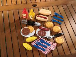 amazon com little tikes backyard barbeque grillin u0027 goodies toys