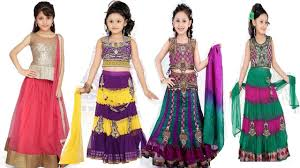 indian lehenga choli online indian girls kids videos fashion