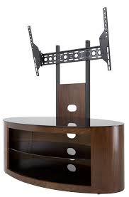 55 inch corner tv stand buckingham oak tv stand for up to 55 inch amazon co uk electronics