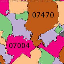 map of essex county nj essex county jersey zip code boundary map nj