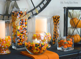 Candy Vases Centerpieces Ms Toody Goo Shoes Halloween Candy Centerpieces