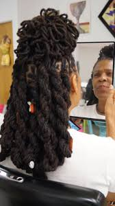 hair styles for locked hair locs long locs loc petals created by the good hair shop