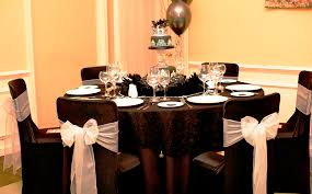 black chair covers beautifully seated black lycra chair covers