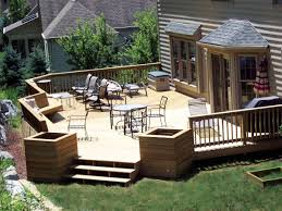 Backyard Deck Plans Pictures by Kitchen Backyard Deck Design Ideas Within Stunning Backyard Deck