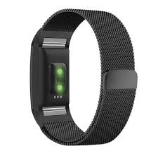 stainless steel bracelet strap images Fitbit charge 2 band with milanese loop stainless steel metal jpg