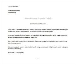 press release template u2013 29 free word excel pdf format download