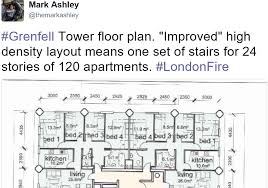 grenfell u0027improvement u0027 just one escape staircase for 24 floors