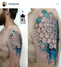 image result for geometric half sleeve tattoos lifestyle