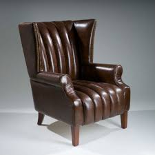 Leather Wingback Chair Top 10 Vintage Leather Wingback Chairs