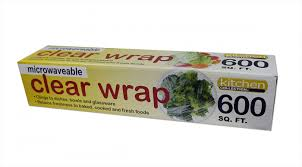 kitchen collection com collection clear plastic wrap 600 sq ft roll