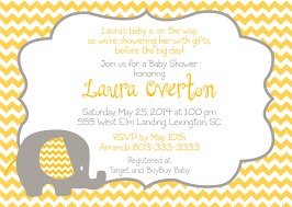 elephant baby shower invitation theruntime com
