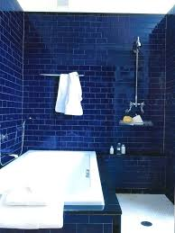 Blue Glass Tile Bathroom Dark Blue Bathroom Floor Tile Vivid Contemporary By U2013 Buildmuscle