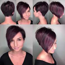 dark ruby dyed short hairstyles 2018 pictures download download
