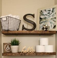 shelves in bathrooms ideas diy faux floating shelves suite