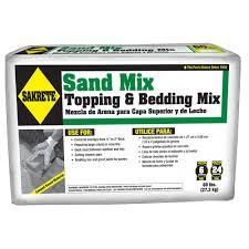 Home Depot Sand Box Sakrete 60 Lb Sand Mix 65306217 The Home Depot