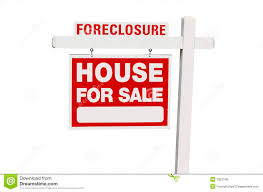foreclosure home for sale real estate sign royalty free stock
