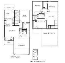 2 story floor plans with garage captivating 4 bedroom 2 5 bath house plans photos best ideas