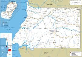 Guinea Africa Map by Equatorial Guinea Gzsihai Com
