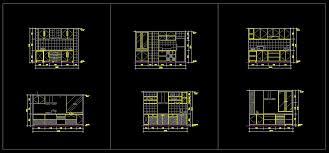 Autocad Kitchen Design by Kitchen Cabinet Details Cad Monsterlune