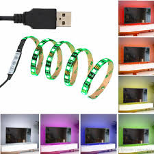 pc led light strips jianguo 5050 usb rgb led strip dc 5v flexible waterproof multi