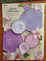 better homes and gardens shades of romance paint palette orchid