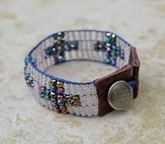 woven bracelet with cross images 108 best bead loom images bead weaving arm candies jpg