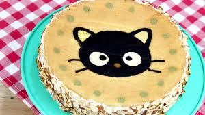 how to make a chococat cake youtube