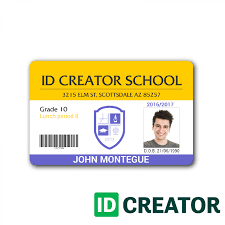 Id Card Design Psd Free Download Card Id Card Template Photoshop