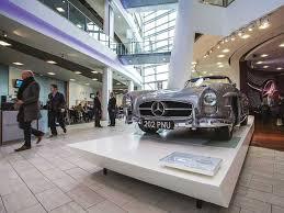 mercedes benz museum atrium mercedes benz world weybridge surrey venue details