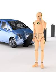 crash test dummy after the crash stock photo picture and royalty