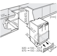 miele integrated under counter freezer f9122ui 2 ao com