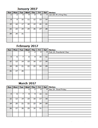 printable 2017 calendar two months per page 2017 calendar template 2 months per page free printable templates