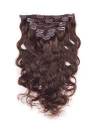 Human Hair Extensions With Clips by 22 Inch Latest Body Wavy Clip In Human Hair Extensions 4