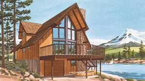 chalet style home plans chalet house plan model c 511 lower floor plan from creative house