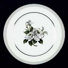 white china pattern 3939 japan white platinum at replacements ltd