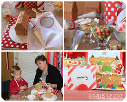 Home Decorating Magazine Gingerbread House Decorating Party