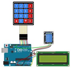 how to set up a keypad on an arduino circuit basics