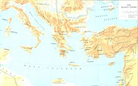 Babylonian Empire Map Roman Empire In Early First Century A D Jesus Reigns