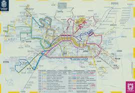 Map Of Malaga Spain by Granada Bus Lines Map Granada Spain U2022 Mappery