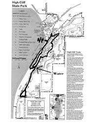 high cliff state park map cliffrunnerevents course maps