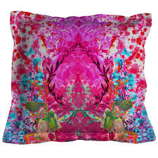 Purple Patio Cushions by Check Out The Deal On Omni Splatt Cushion At Eco First Art Eco