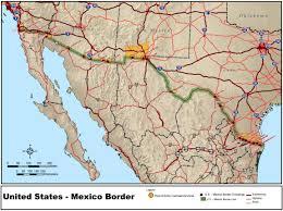 Maps Of Us Map Of Us Mexico Border U2022 Mapsof Net