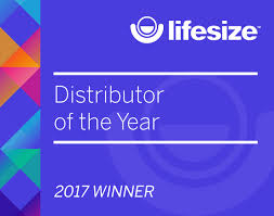 nuvias recognised by lifesize as the distributor of the year 2017