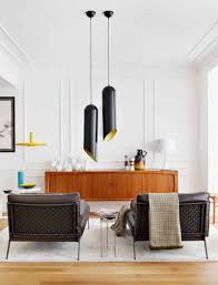 10 ways to get a mid century style in your home mid century interior with unique lamps by mikel irastorza pixers blog