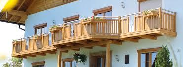 balkone alu alu holzdekor