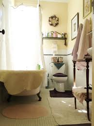 bathroom small bathroom design with floating shelves and clawfoot