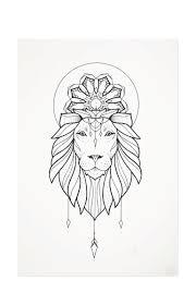 lion print print lion king din a3 by melina limitiert auf 100 stk vaders dye